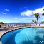Heated pool on pristine Indian Rocks Beach