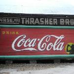 The Coca Cola wall