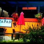 Tapas Restaurant in the summer