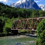 Riverfront Rafting Facility on the Skykomish River in Index Washington