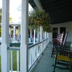Front Porch of Hotel