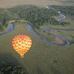 Balloon Safari ride in Maasai Mara Game Reserve