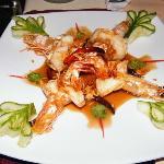 Prawn in tamarind sauce, very nice