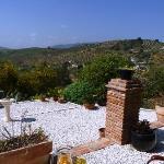 Cava Sangria on the terrace