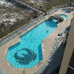 pool showing phoenix on bottom of pool