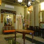 Cafe @ Courtyard: Ornately Decorated Foyer