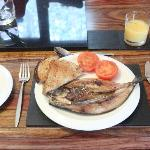 Our Scottish Kipper Breakfast