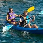 Enjoy on of our tandem kayak with a friend!