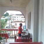 Balcony continental breakfast