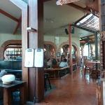 Vista desde lobby hacia restaurant
