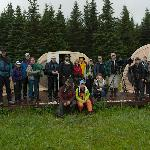 Group of Photographers at our BearCamp