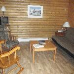 Deer Nook living room