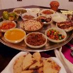 Our 15-course Feast of Salahadeen at Mara's restaurant