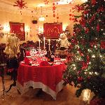 The Copper Room Restaurant at Christmas