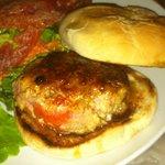 Ahi Tuna Burger at Chez Vincent / Hannibal's in Winter Park FL