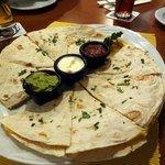 Quesadilla - sehr gut als Vorspeise zum Teilen
