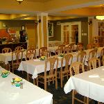 Our Great Room all dressed up for 45 guests