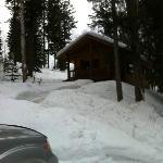 a neigbhoring cabin