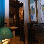 Our suite - The Oriental room.