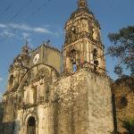 church at tepoztlan