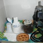 caffè e crostatine