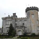 Side view of Dromoland Castle