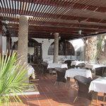 spotless interior of La Paella