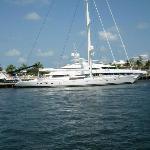 lots of yachts