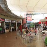 Shopping area outside hotel
