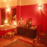 Living room Hotel Dar Rita Ouarzazate
