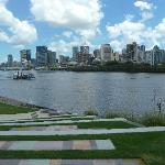 Brisbane from the South Bank