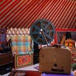 inside the mongolia yurt
