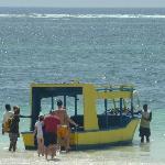 Fahrt m.d. Glasbodenboot
