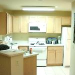 Kitchen in one bedroom unit