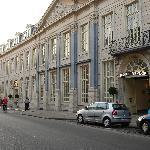 vue rue hôtel