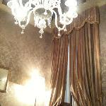 Le lustre, typique de Murano
