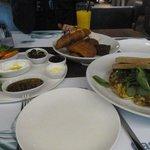 Jordenian breakfast