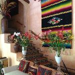 Casa Candiles - Stairs leading up to the Bali and Sinaloa suites