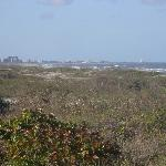 View looking toward Cocoa Beach