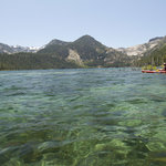 Kayaking on Lake Tahoe'