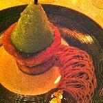 Le dessert marron-poires !