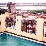 vista de Asunción desde la terraza del Manduara