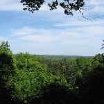 View From Lookout Area @ Torreya Campground