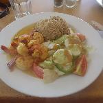 Delicious Zanzibarian dish at the Archipelago
