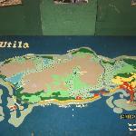 Utila map