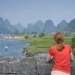 View from Dragon Bridge, Yangshuo China