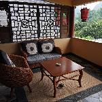 Guestroom Balcony, Yangshuo Mountain Retreat, Yangshuo China