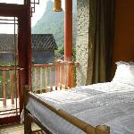 Standard balcony room, Yangshuo Village Inn, Yangshuo China
