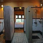 Bathroom in Farmhouse, Yangshuo Village Inn, Yangshuo China