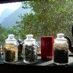 Complimentary tea in pantry, The Farmhouse, Yangshuo VIllage Inn, Yangshuo China
